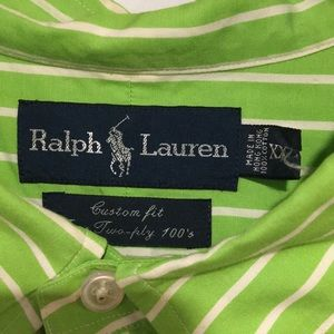 Ralph Lauren Blue Label Shirts - Ralph Lauren 100% cotton Dress Shirt Sz XXL